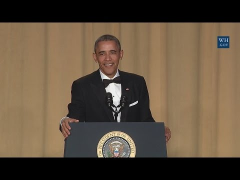 President Obama Speaks at the White House Correspondents' As