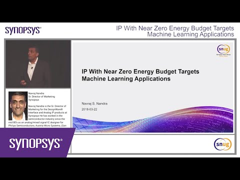 IP With Near Zero Energy Budget Targeting Machine Learning Applications