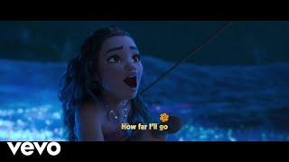 "Auli'i Cravalho - How Far I'll Go (Reprise/From ""Moana""/Sing-Along)"
