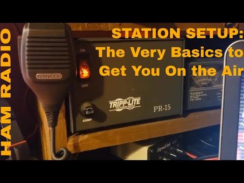 Ham Radio Basics: Station Setup VHF/UHF/HF Radios And More.