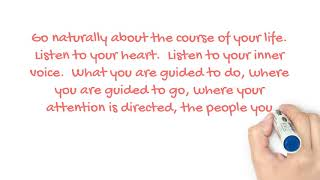 Journey to the Heart January 12 Let the Universe Help You
