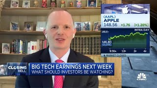 Tech stocks set up to do well following earnings reports next week