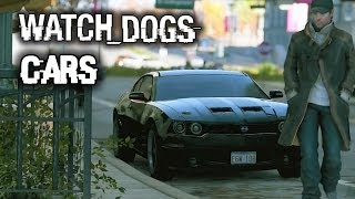 Watch Dogs All Cars & Gameplay! Car List Including Bikes and Motorcycles!