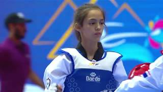 [FEMALE -33kg] 3rd WORLD TAEKWONDO CADET CHAMPIONSHIPS FINAL