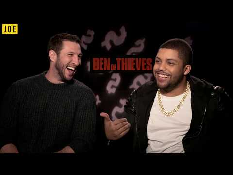 Pablo Schreiber and O'Shea Jackson Jnr talk Den Of Thieves, Conor McGregor influences and Godzilla 2