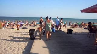 Отдых в Урзуфе, Идем на центральный пляж