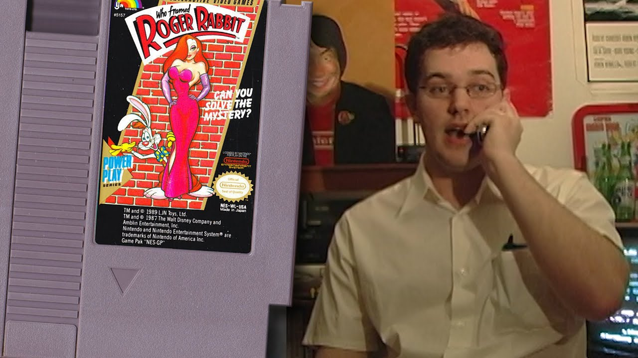 Who Framed Roger Rabbit - Angry Video Game Nerd - Episode 4 - YouTube