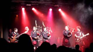 Red Hot Chilli Pipers - Medley Thunderstruck on bagpipe 31.05.2011