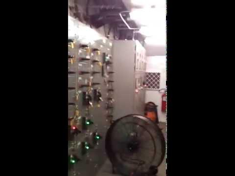 Caterpillar 3512 DGB Generators on a Petroleum Drilling Rig