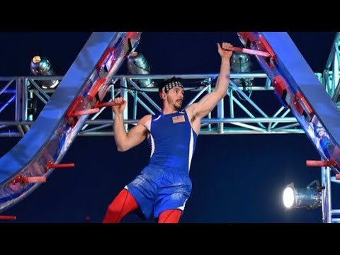 Drew Drechsel's Stage 3 Run: USA Vs. The World - American Ninja Warrior 2020