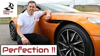 Aston Martin DB11 - Review while chasing a V12 Vantage S across the New Forest !