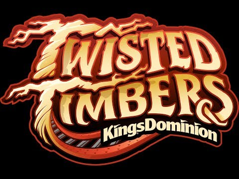 NEW FOR KINGS DOMINION 2018: Twisted Timbers | Announcement Animation & POV
