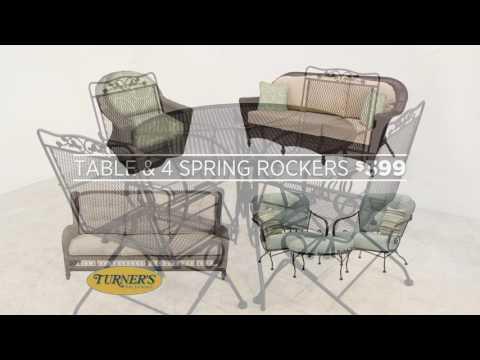 Turneru0027s Fine Furniture Outdoor Furniture