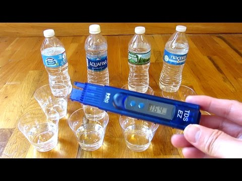Water Quality Tester | Tap Vs Bottled Water