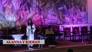 kieran y alanna en concierto con piero-academia de la lengua (bogota) 2018