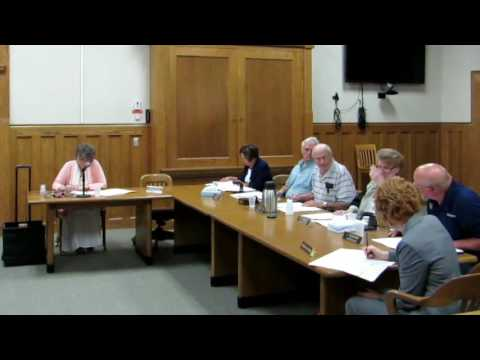 Dickinson County, Board of Commissioners Meeting - July 25, 2016