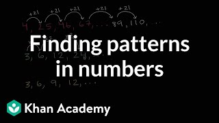 Practice finding patterns in numbers   3rd grade   Khan Academy
