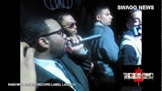 RAEKWON ICEH2O CANADA RECORD LABEL LAUNCH + JD Era Signing Party / Gangis Khan