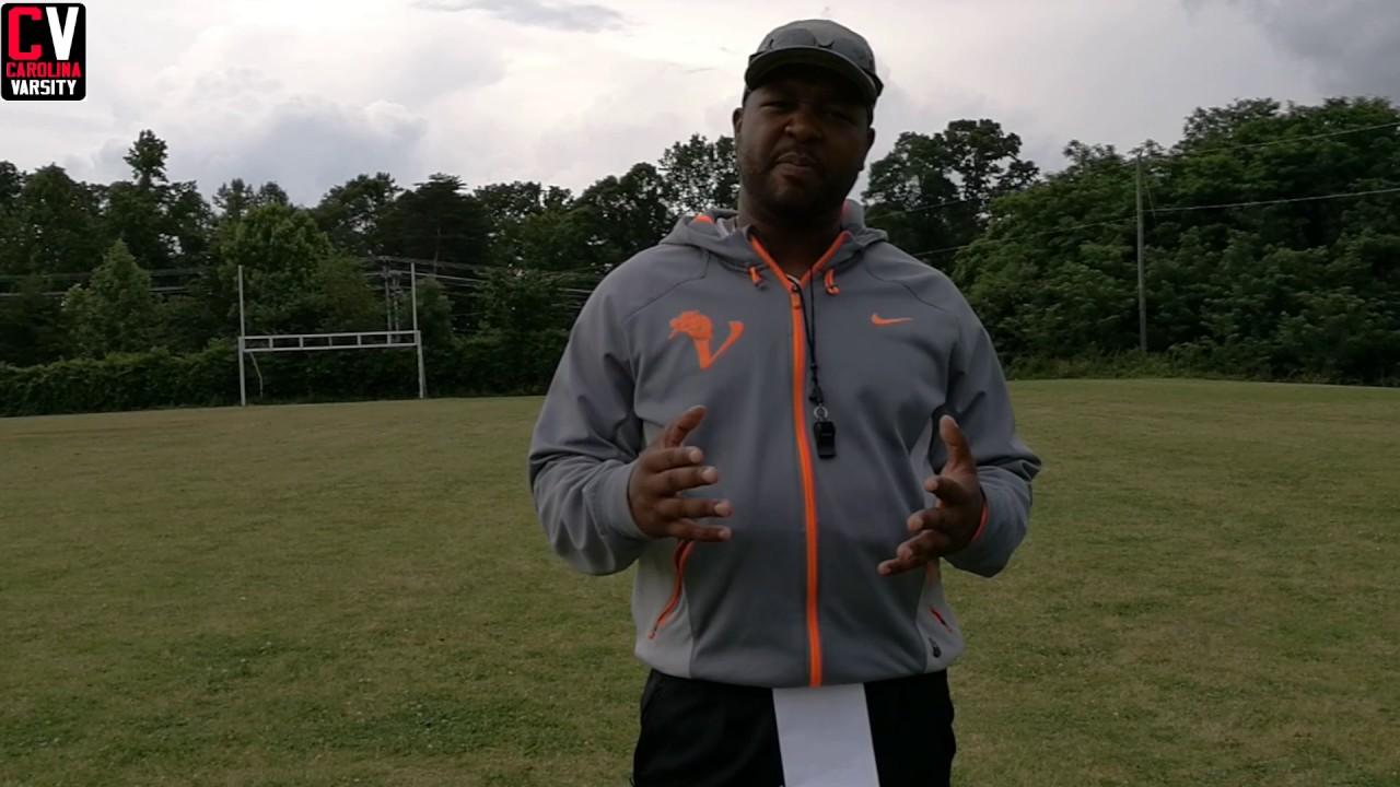 vance high school head football coach aaron brand spring 2017 youtube