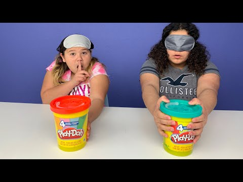 GIANT Play-Doh SLIME Switch Up Challenge