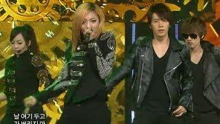 【TVPP】 f(x) with Super Junior - U, 에프엑스 with 슈퍼 주니어 - 유 @ 2010 KMF