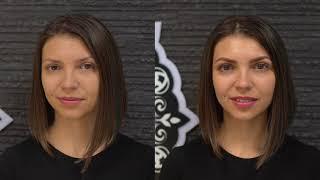 ДО/ ПОСЛЕ Реконструкция ресниц VELVET с ботоксом