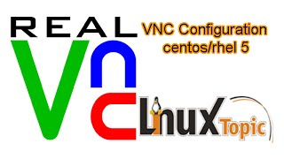 How to configure VNC Server in Linux centos 5