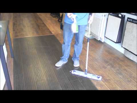 Clean Laminate Floors with Bona - YouTube