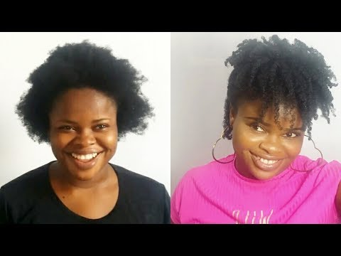 How to fix a failed twist out on short natural hair