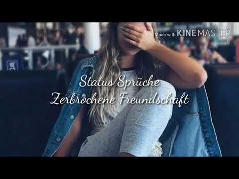 Sprüche über zerbrochene Freundschaft