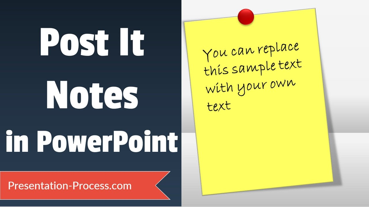 photo about Editable Post It Note Template known as Short article It Notes Guidebook within just PowerPoint