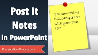 Post It Notes Tutorial in PowerPoint