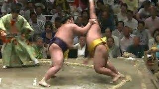 平成25年秋場所9日目 sumo 大相撲.