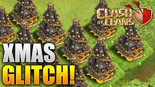 Clash of Clans - UPDATE GLITCH! WTF? What Is Happening? (CoC X-Mas Tree Bug/Glitch!)