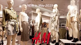 #New Arrivals H&M #SPRING SUMMER Collection May #2019 | Shop with Me
