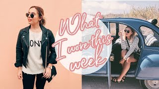 what i wore in a week   hello october vlogtober day 19 ad