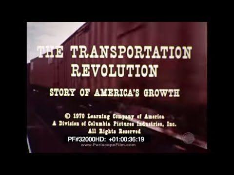 The Transportation Revolution Story of America