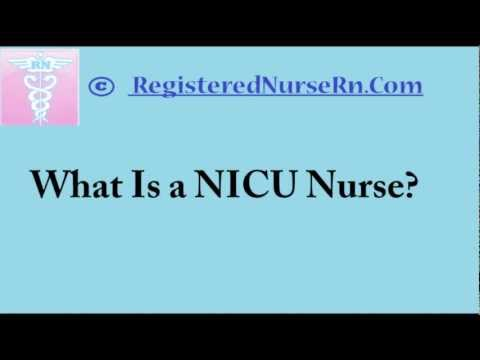 By pointing out Neonatal Intensive Care Unit (NICU)