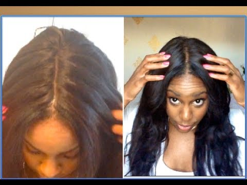 Make Lace Wig Part Look Natural
