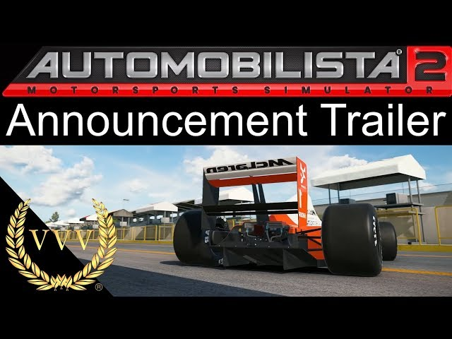 Automobilista 2 announcement trailer