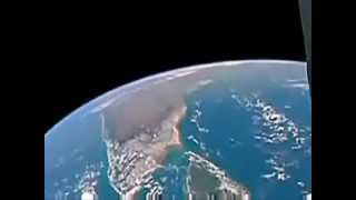 Real footage from space. It shows real ufo's leaving earth..
