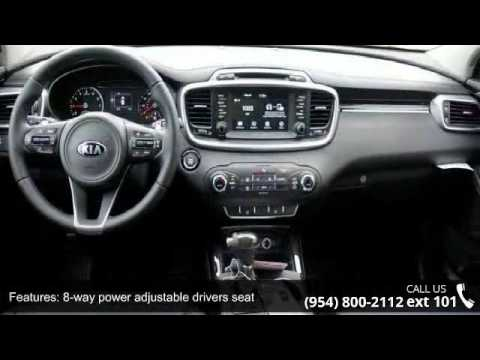 2017 Kia Sorento 2 0t Ex Gunther Kia Of Fort Lauderdale Youtube