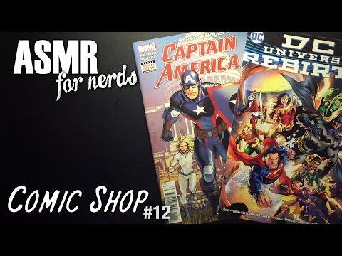 Comic Shop ASMR #12 - Comic Book Reading - Captain America, DC's Rebirth