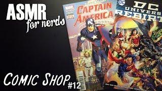 Comic Shop Asmr 12 Comic Book Reading Captain America Dcs Rebirth
