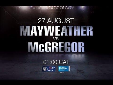 Mayweather vs McGregor - Live on SuperSport