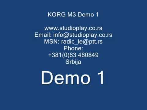 KORG M3 set !