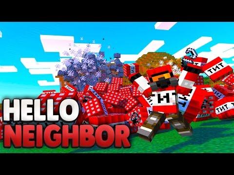 TNT-MANN SPRENGT MEIN HAUS?! 😰 | Minecraft Hello Neighbor