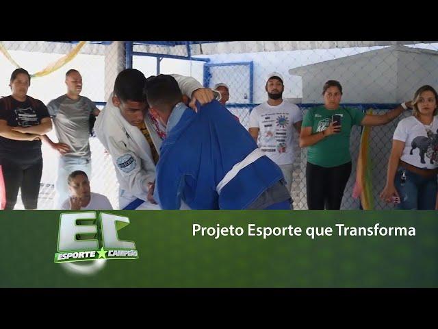 Conheça o trabalho do Projeto Esporte que Transforma