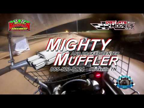 #3T Tommy Thompson - Mini Sprint - 4-29-17 Smoky Mountain Speedway - In-Car Camera
