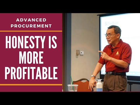 Honesty in Business | Free Procurement Course